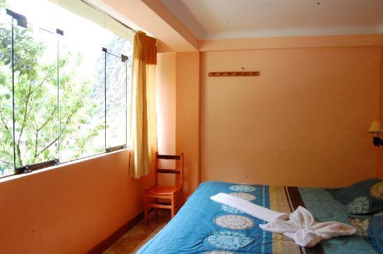 Hostal Muyurina: la habitación .