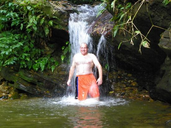 Arima, Trinidad: Swim in a rainforest waterfall