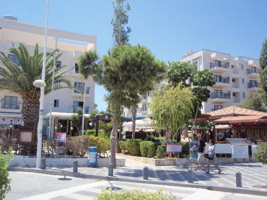 View from our bacony - Picture of Alva Hotel Apartments ...