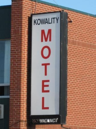Kowality Motor Inn : Where the K stands for Kowality!
