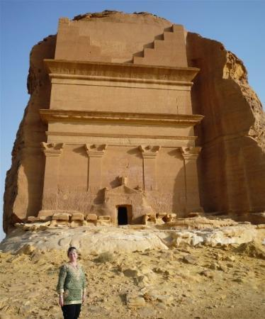 Yanbu, Saudiarabien: The most famous/photographed tomb of Mada'in Saleh
