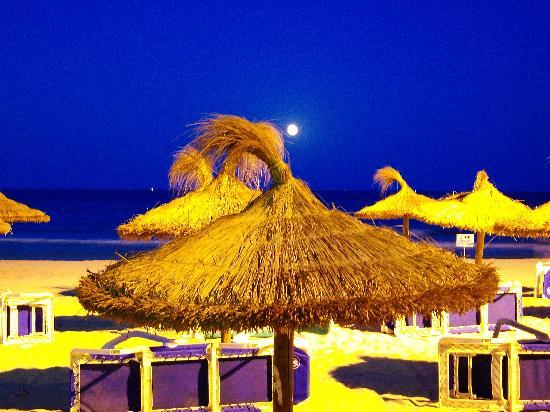 SENTIDO Castell de Mar: Luna llena desde la playa