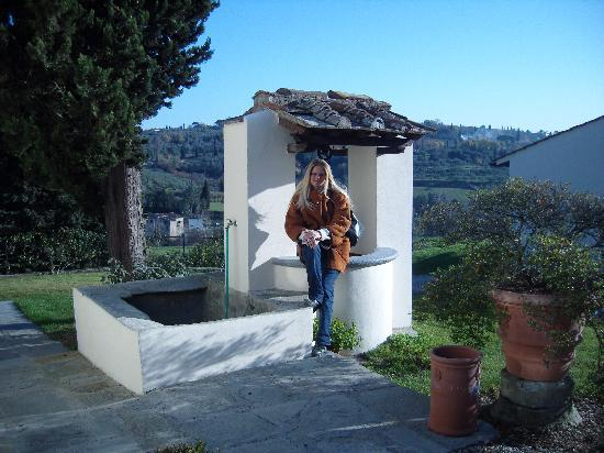 Villa Poggio ai Merli: pozzo
