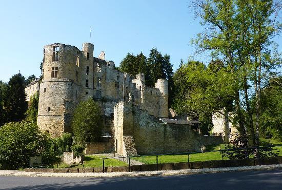 Hotel Meyer: curiosité: le Château de Beaufort