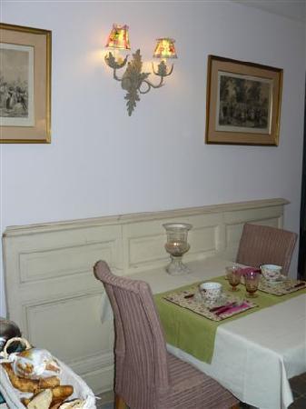Aux Rives de Honfleur : petit dejeuner