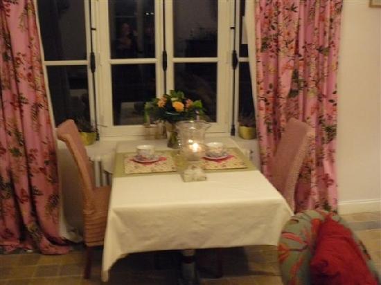 Aux Rives de Honfleur : souper