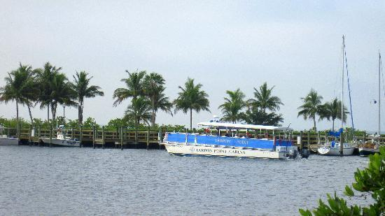 The Westin Cape Coral Resort At Marina Village: The free boat Shuttle that takes you to Ft myers beach