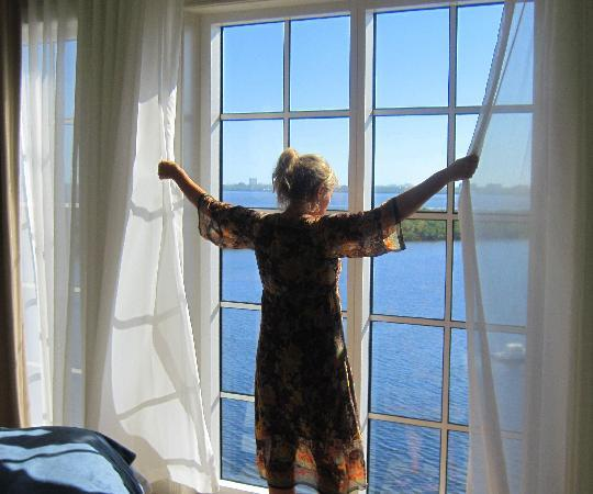 The Westin Cape Coral Resort At Marina Village: The View from one of the master bedrooms