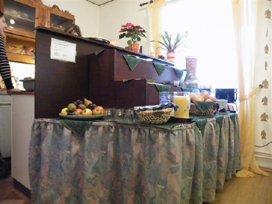 Hotel Baccara Aachen : Breakfast display