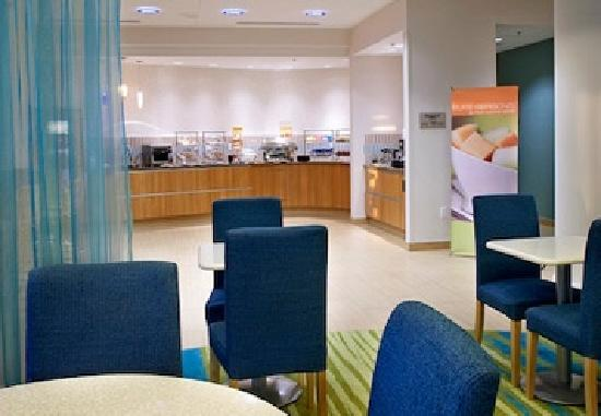 SpringHill Suites Ewing Princeton South: Breakfast Area