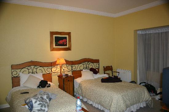 Hotel Huincahue: The room