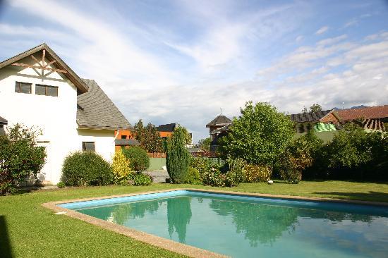 Hotel Huincahue: The pool