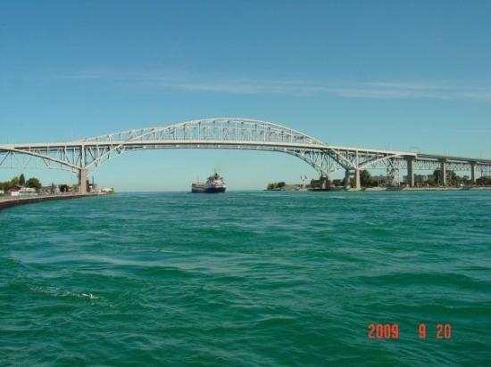 Blue Water Bridge Foto