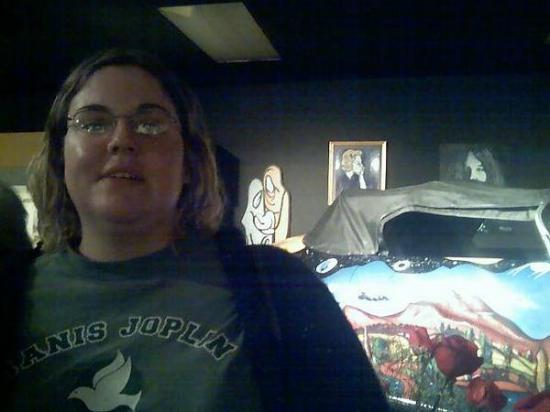 Port Arthur, TX: Janis's beloved Porsche-was weird seeing it in person, after seeing her standing next to it in t