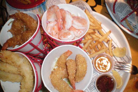 Bubba Gump Shrimp Co: una buena opcion
