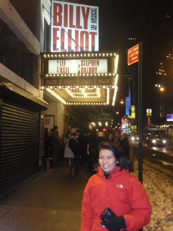 Billy Elliot the Musical: outside the theatre