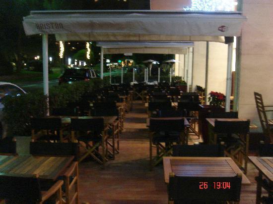 Ariston: Terrasse nuit