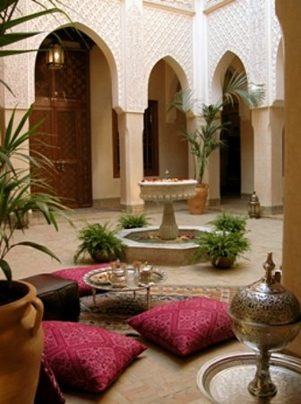 Riad Kniza: Patio