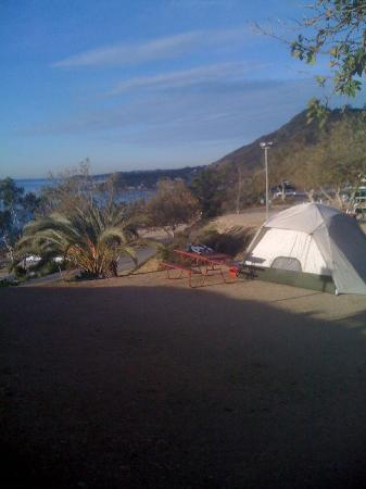 Malibu Beach RV Park : our campsite