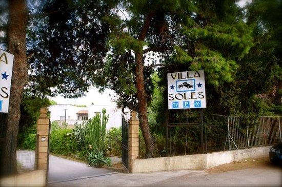 Esterno Hotel Villa Soles