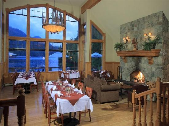 Eagle Nook Resort & Spa: Fine Dining
