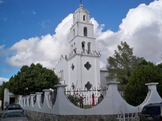 La Posada del Rio Sonora: The local church in Banamichi