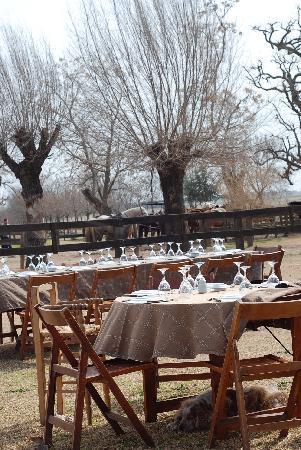 Estancia El Ombu de Areco: geweldig eten en drinken