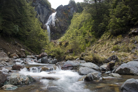 Walking Legends - Tongariro Crossing Guided Day Walk: Waitonga Falls