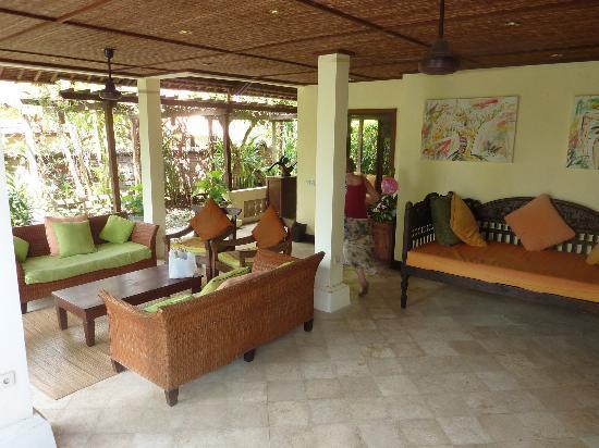 Ubud Garden Villa: outdoor area