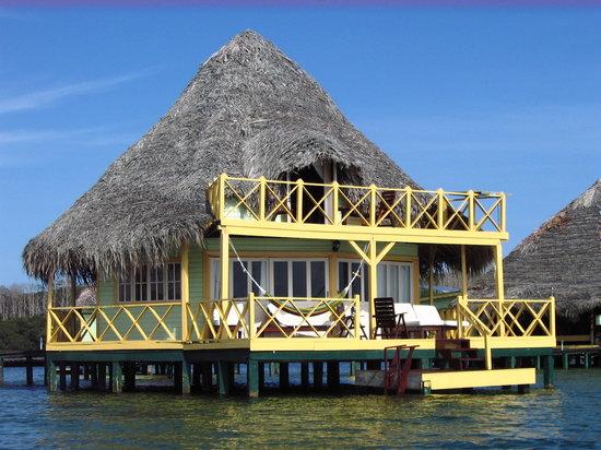 Punta Caracol Acqua Lodge: la master suite où nous étions
