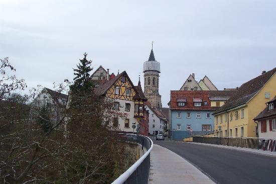 Ringhotel Johanniterbad: Approaching Rottweil