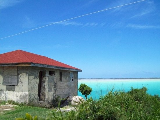 Middle Caicos: This is one of my favorite pics. Most of the houses on Caicos look like this---some don't even h