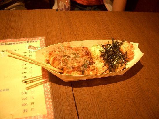 โอซาก้า ทาโกะยากิ มิวเซี่ยม: 「ハーフ&ハーフソース・塩10個」500円