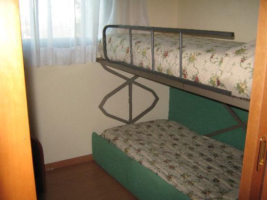 Sangallo Park Hotel: トリプルを予約していたら、子供部屋のファミリールームでした