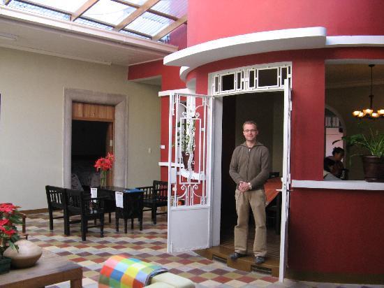 Hotel Villa Del Centro : Manager, Ronald