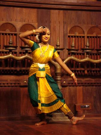 Kerala Folklore Museum: bharatnatyam
