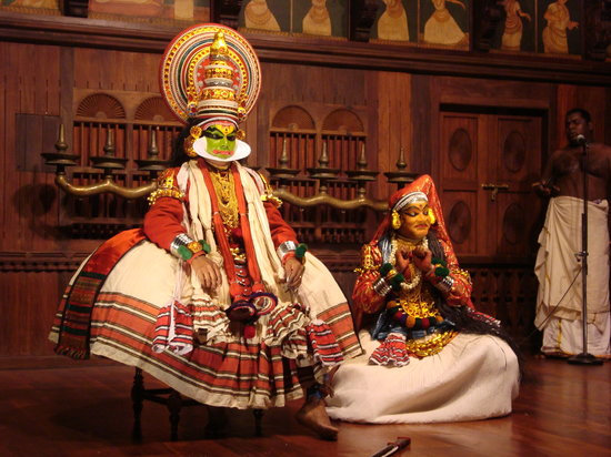 Folklore Museum: Kathikali theatre performance