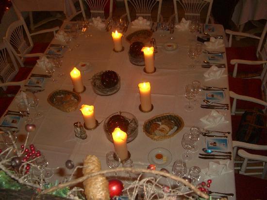 Rottach-Egern, Duitsland: Schön gedeckter Tisch!