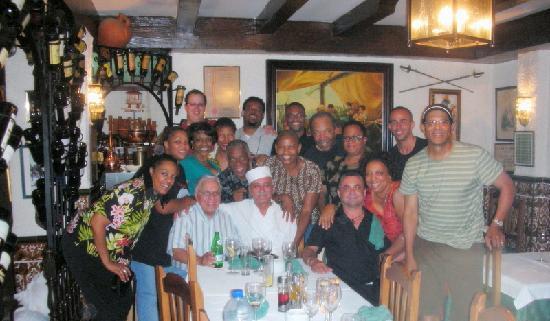 Meson Antonio: Albert McNeil Jubilee Singers at Meson de Antonio!