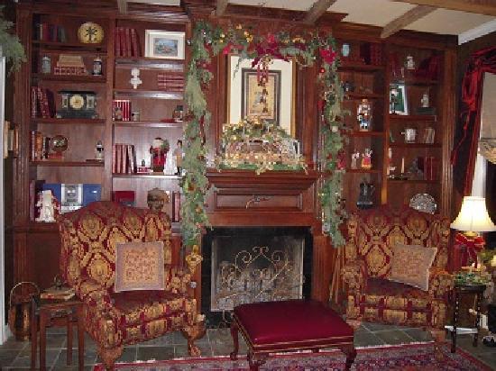 Elm Creek Manor: Library