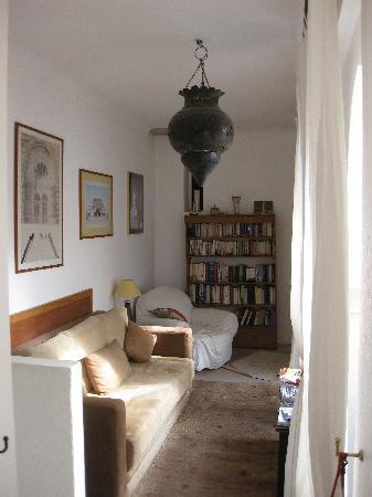Riad Safa: The library