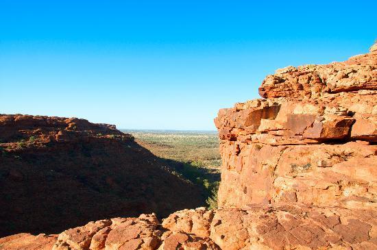 كينجز كانيون ريزورت: View from the top of Kings Canyon