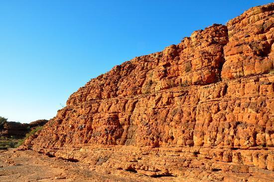 كينجز كانيون ريزورت: Kings Canyon sandstone formation
