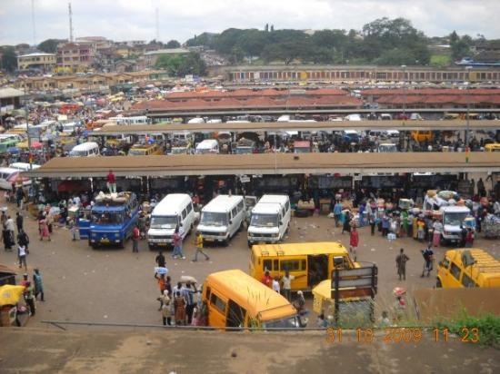 Stationen i Kumasi