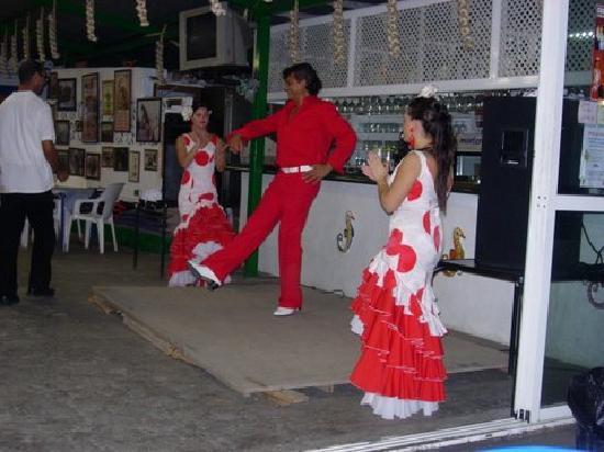 Chiringuito El Breine : Flamenco le jeudi soir.