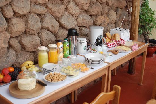 Hostal Buena Vista - Cusco: Desayuno Buffet