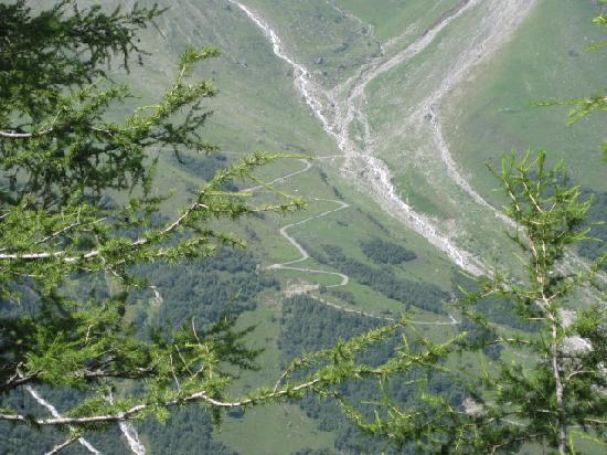Heiligenblut, Autriche : 山岳道路①
