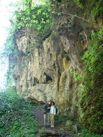 Park Prirode Papuk: Two of my friends at the Geological Park Jankovac