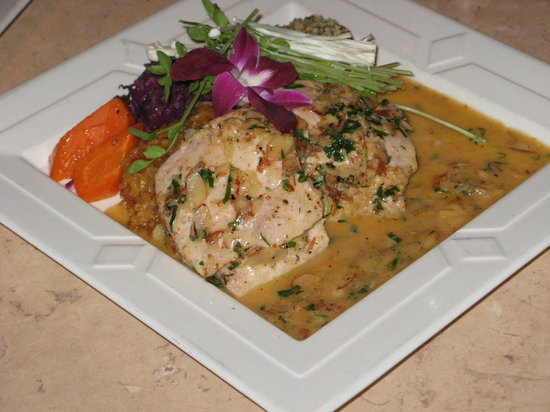 Todd's Unique Dining: Mahi mahi stuffed with crab