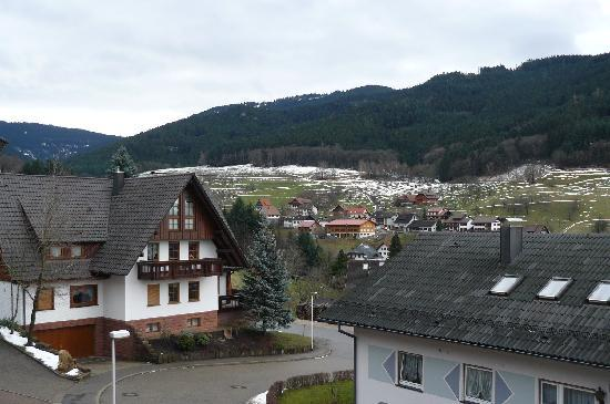 Seebach, Germany: vue de la chambre 9
